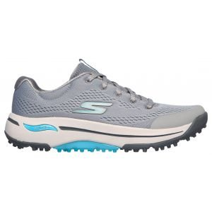 Skechers Womens GO GOLF Arch Fit Balance Golf Shoes Grey/Blue