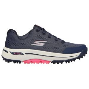 SKECHERS Womens GO GOLF Arch Fit Balance Golf Shoes Navy/Pink