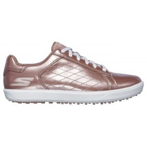 Skechers Womens Go Golf Drive Shine Golf Shoes - Rose Gold