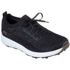 Skechers Womens Go Golf Max Glitter Golf Shoes Black/Multi