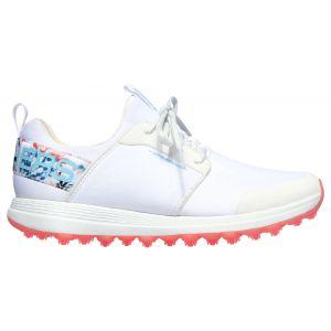 Skechers Womens GO GOLF Max Sport Tropics Golf Shoes White/Multi