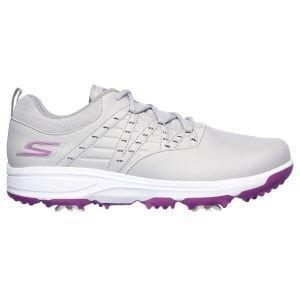 Skechers Womens Go Golf Pro V.2 Golf Shoes Gray/Purple