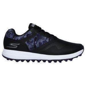 Skechers Womens Go Golf Max Draw Golf Shoes Black/Purple