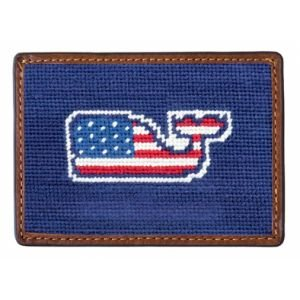 Smathers And Branson Needlepoint Credit Card Holder