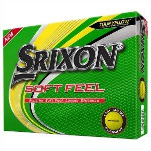 Srixon Soft Feel Yellow Golf Balls 2020