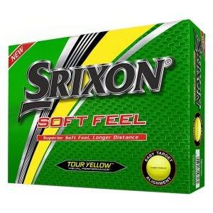 Srixon Soft Feel Golf Balls Box Yellow