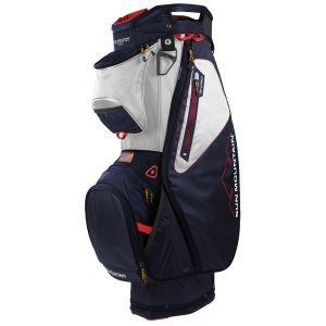 Sun Mountain Sync Cart Bag 2022 - GUN/BLACK/RED