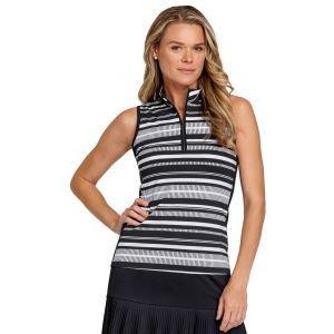 Tail Women's Cindy Sleeveless Golf Top Dash Stripe