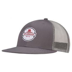 TaylorMade California Trucker Flatbill Golf Hat