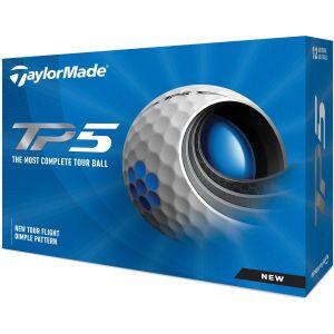 2021 TaylorMade TP5 Golf Balls Packaging