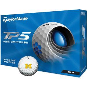 University of Michigan Wolverines TP5 Collegiate Golf Balls
