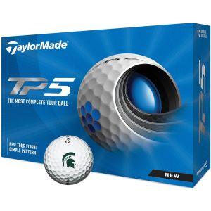 Michigan State Spartans TaylorMade TP5 Collegiate Golf Balls