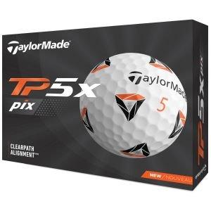 2021 TaylorMade TP5x pix Golf Balls Packaging
