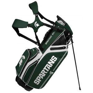 Team Effort Michigan State Spartans Caddie Carry Hybrid Stand Bag