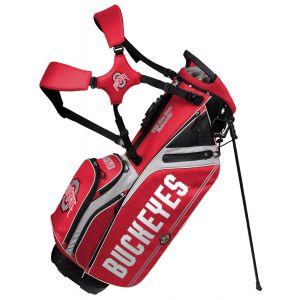 Team Effort Ohio State University Buckeyes Caddie Carry Hybrid Stand Bag