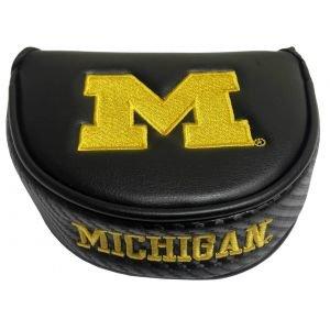 Team Effort University Of Michigan Mallet Putter Headcover