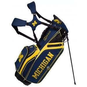 Team Effort University Of Michigan Wolverines Caddie Carry Hybrid Stand Bag