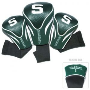 Team Golf Michigan State Spartans Contour Sock Headcovers 3 Pack