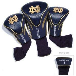 Team Golf Notre Dame Fighting Irish Contour Sock Headcovers 3 Pack