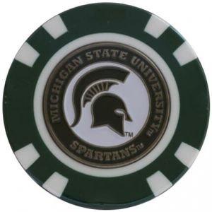 Team Golf NCAA Poker Chip Ball Marker