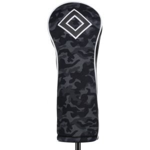 Titleist Black Camo Collection Leather & Cotton Twill Fairway Wood Headcover