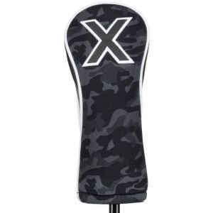 Titleist Black Camo Collection Leather & Cotton Twill Hybrid Headcover