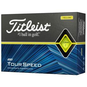 Titleist Tour Speed Yellow Golf Balls Packaging