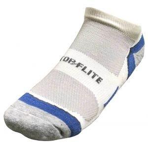 Top Flite Half Cushion Moisture Wicking Low Cut Golf Socks  3 Pack