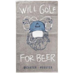 TravisMathew Cuater Happy Head Golf Towel
