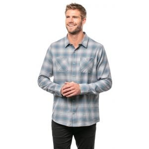 Travis Mathew High Stakes Buton Down Flannel Shirt