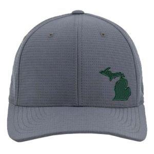 Travis Mathew Nassau Michigan Golf Hat Green And White