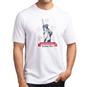 Travis Mathew Super Patriot Golf T-Shirt