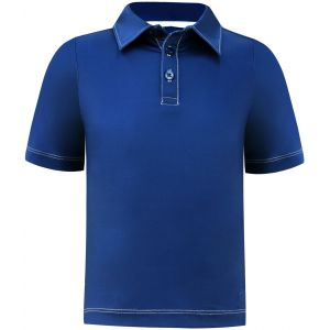 Turtles & Tees Junior Boys Performance Golf Polo Shirt