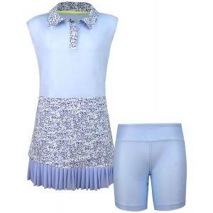 Turtles & Tees Junior Girls CeCe Sleeveless Golf Dress