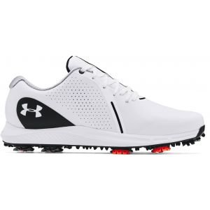 Under Armour UA Charged Draw RST Golf Shoes White/Black