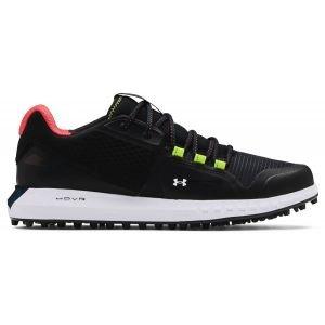 Under Armour UA HOVR Forge RC Spikeless Golf Shoes - Black/Photon Blue