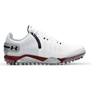 Under Armour UA Spieth 5 Spikeless Golf Shoes White/Metallic Silver