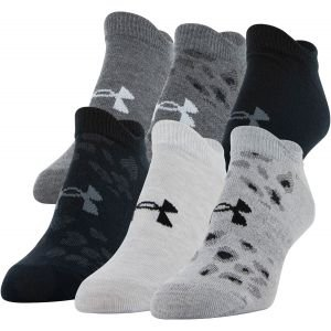 Under Armour Women's Essential No Show Golf Socks 6 Pack