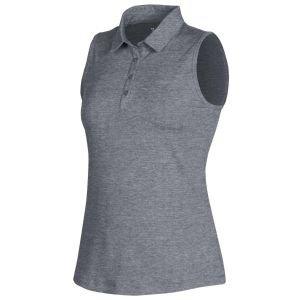 Under Armour Womens Zinger 2.0 Sleeveless Heather Golf Polo