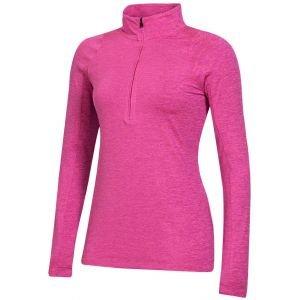 Under Armour Women's Zinger Heather 1/2 Zip Golf Pullover