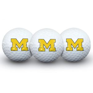 Team Effort Michigan Wolverines 3 Ball Pack