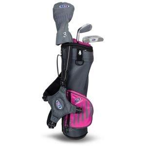 U.S. Kids UL39 3 Club Junior Golf Set Grey/Pink 2020