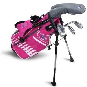 U.S. Kids UL42 4 Club Junior Golf Set Pink/White 2020