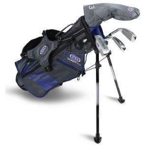 US Kids UL45 4 Club Junior Grey/Blue Golf Set 2020