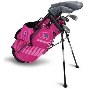 U.S. Kids UL48 5 Club Junior Golf Set Pink/Pink Bag