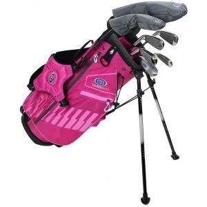 U.S. Kids Ultralight UL48 7 Club Junior Golf Set Pink/Pink Bag