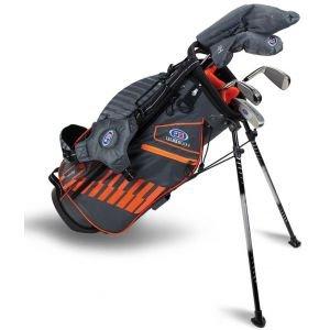 U.S. Kids UL51 5 Club Junior Golf Set Grey/Orange Bag 2020