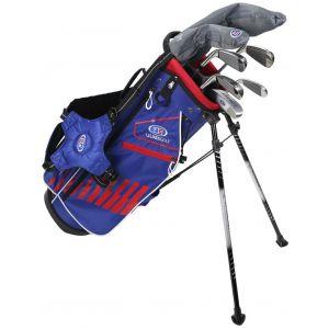 U.S. Kids Ultralight UL51 7 Club Junior Golf Set Blue/Red/White Bag
