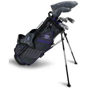 U.S. Kids UL54 5 Club Junior Golf Set Grey/Purple Bag 2020