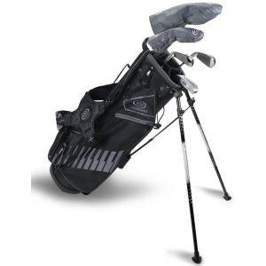 U.S. Kids UL60 5 Club Junior Golf Set Black/Grey Bag